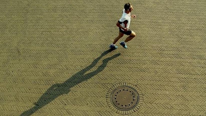 Joggen Marathon Läufer