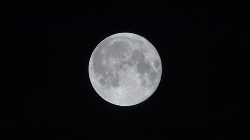 Mond Nasa Sonnensystem Erdtrabant Weltraum
