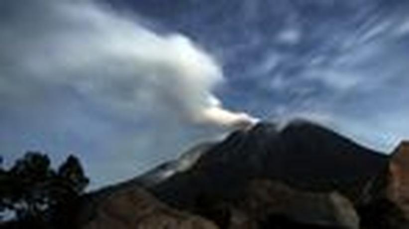 """Vulkanausbruch in Indonesien: """"Schlafende Vulkane sind immer gefährlich"""""""