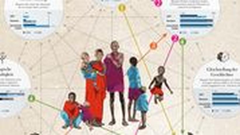 Wie hängen die Millenniumsziele miteinander zusammen?