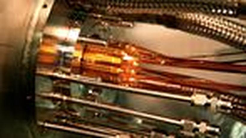 Teilchenphysik: Antimaterie geht Forschern in die Falle