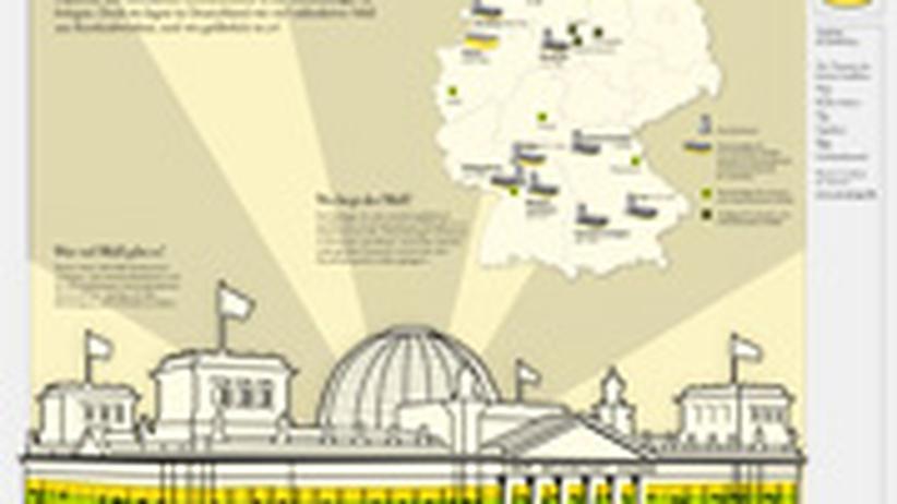 Atommüll-Infografik: Klicken Sie auf das Bild, um die Infografik als PDF-Datei herunterzuladen