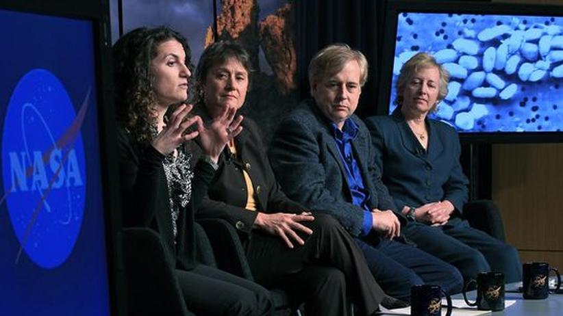 Pressekonferenz Nasa Arsen-Bakterium