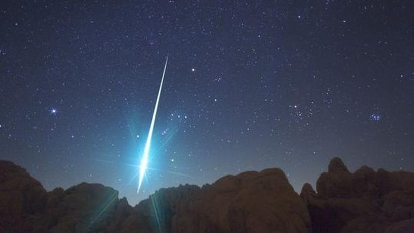 Geminiden Sternschnuppen Meteorschauer