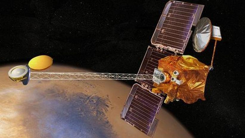 Raumsonde Odyssey: Rekordhalter im Orbit des Roten Planeten