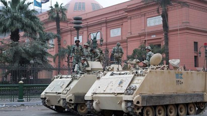 Revolte in Ägypten: Wachpersonal raubte Exponate aus dem Ägyptischen Museum