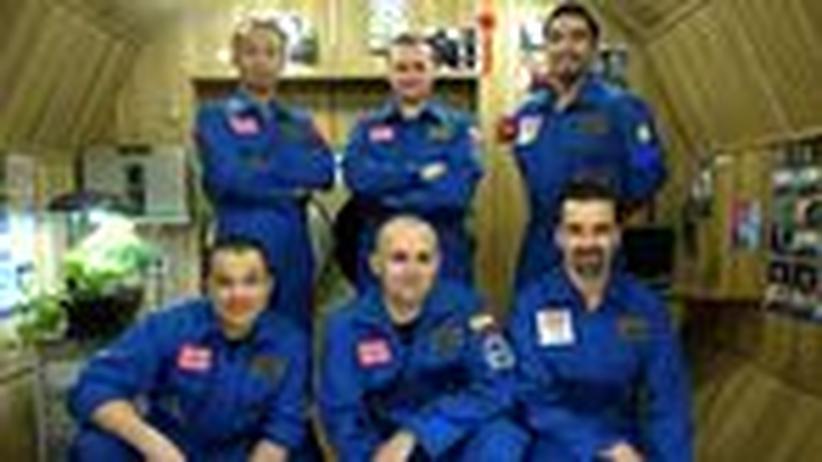 Simulierte Mission: Fertig machen zur Landung auf dem Mars