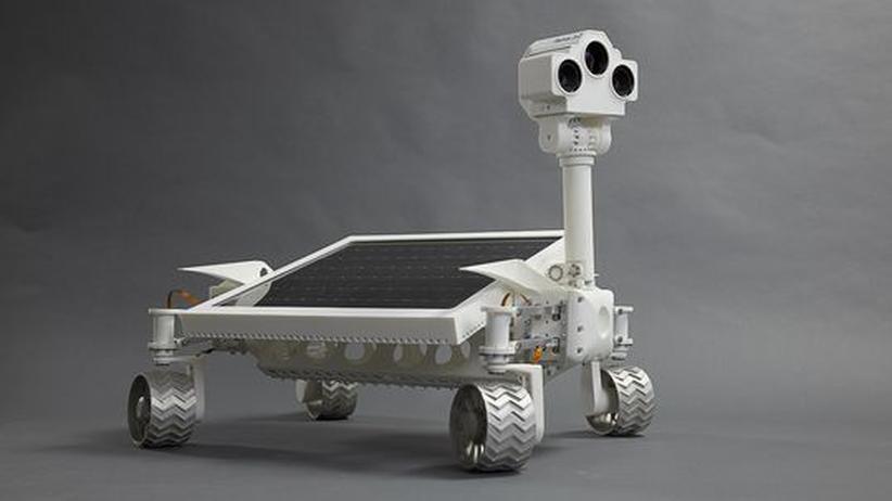 """Der Mond-Rover """"Asimov"""" wurde nach einem Science-Fiction Autor benannt"""