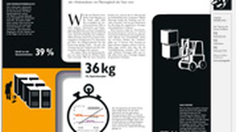 Infografik: Saubere Zeitung