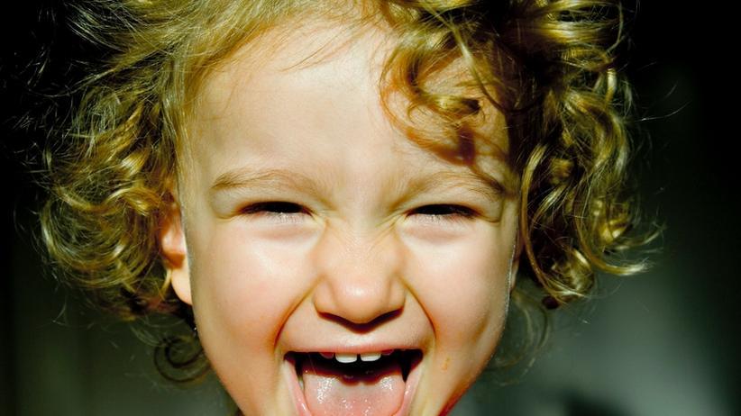 Kind Lachen Lachforschung Freude