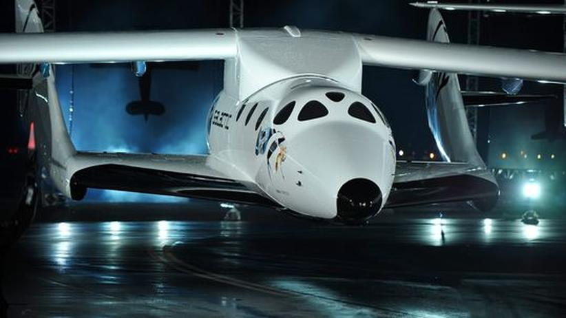 SpaceShipTwo Virgin Galactic Weltraumtourismus