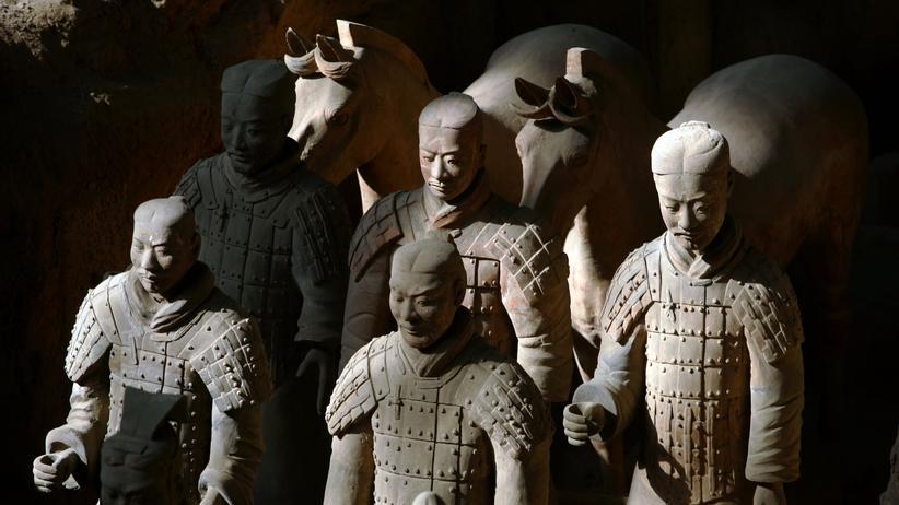 Ausgrabungen: Archäologen heben das Grab des ersten Kaisers von China