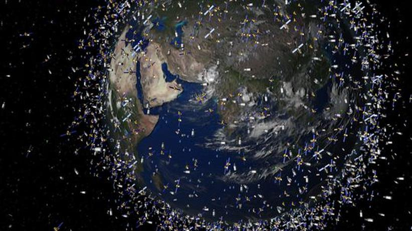 Raumfahrttechnik: Mini-Satelliten auf Schrottsuche im Orbit