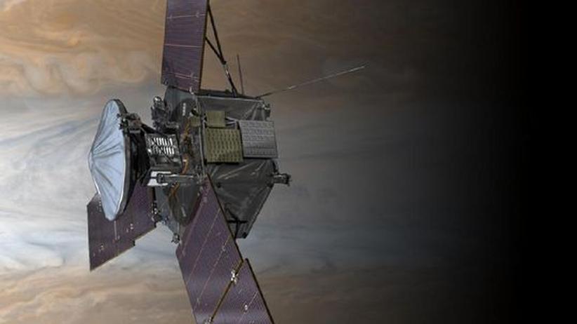 Juno-Mission: Mit einem Raumschiff über Jupiters Wolken