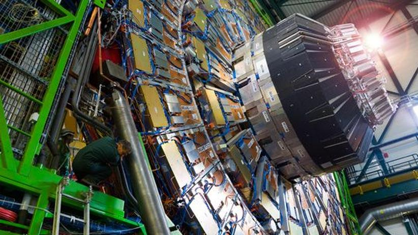 Ein Teilchendetektor am Kernforschungszentrum Cern