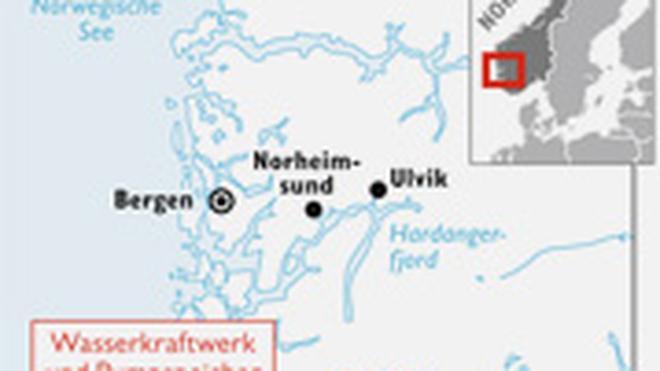 Karte Norwegen Drucken.Stromspeicher Norwegen Der Akku Europas Zeit Online