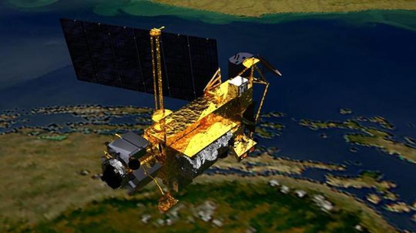 Weltraumschrott: Kaum Gefahr durch abstürzende Satellitentrümmer