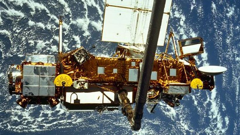 Weltraumschrott: US-Forschungssatellit ist auf Erde gestürzt
