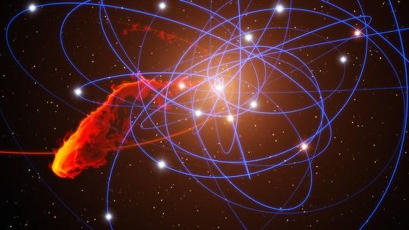 Milchstraße: Schwarzes Loch frisst Gaswolke