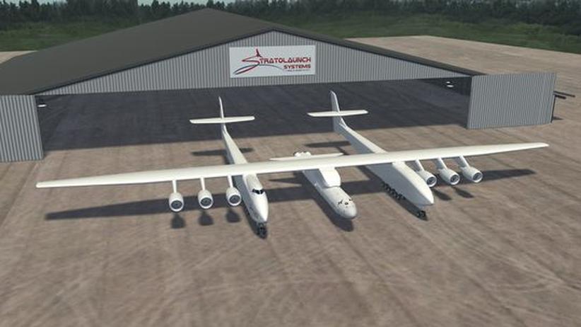 Raumfahrt: US-Milliardär Allen will Riesenflugzeug bauen