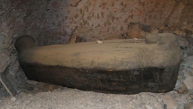 Mumienfund: Ägyptische Tonkonserve