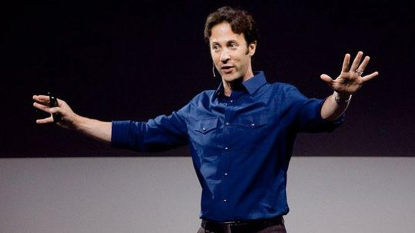 Der Hirnforscher David Eagleman während eines Vortrags (Archivfoto)