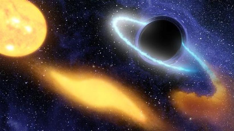 Schwarze Löcher: Schnappschuss vom unsichtbaren Massemonster