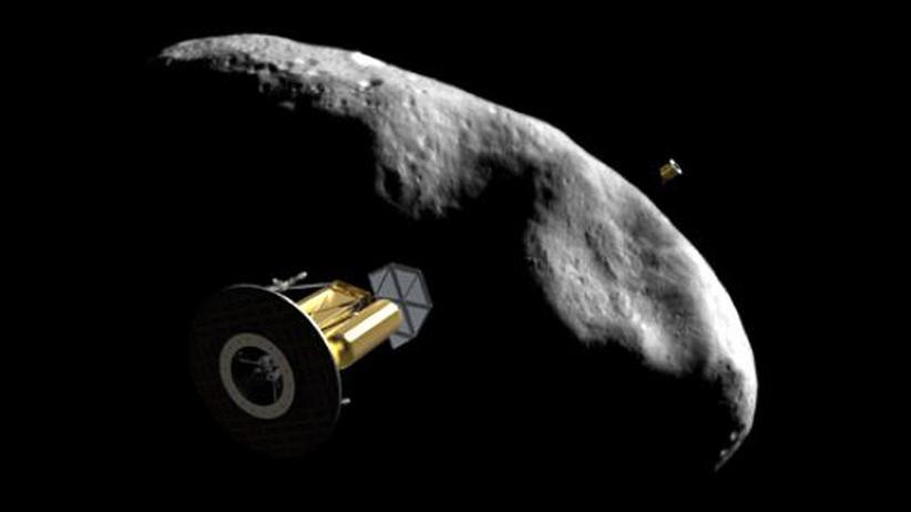 Private Raumfahrtpläne: Auf Asteroiden nach Platin schürfen