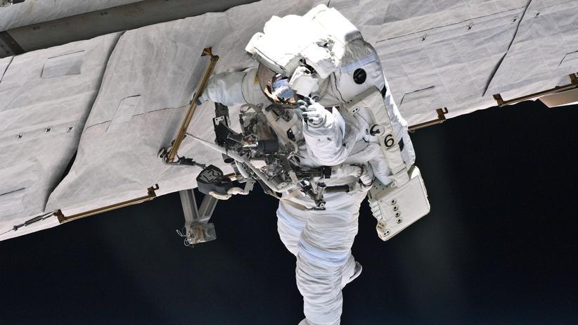Internationale Raumstation: Knochenjob Astronaut