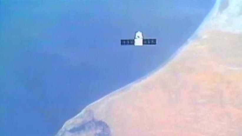 """Raumfahrt: Raumkapsel """"Dragon"""" dockt an ISS an"""