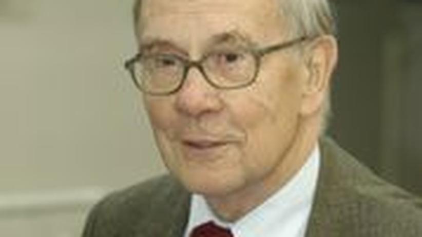 Der Mathematiker und Gründer des Max-Planck-Instituts für Mathematik, Friedrich Hirzebruch