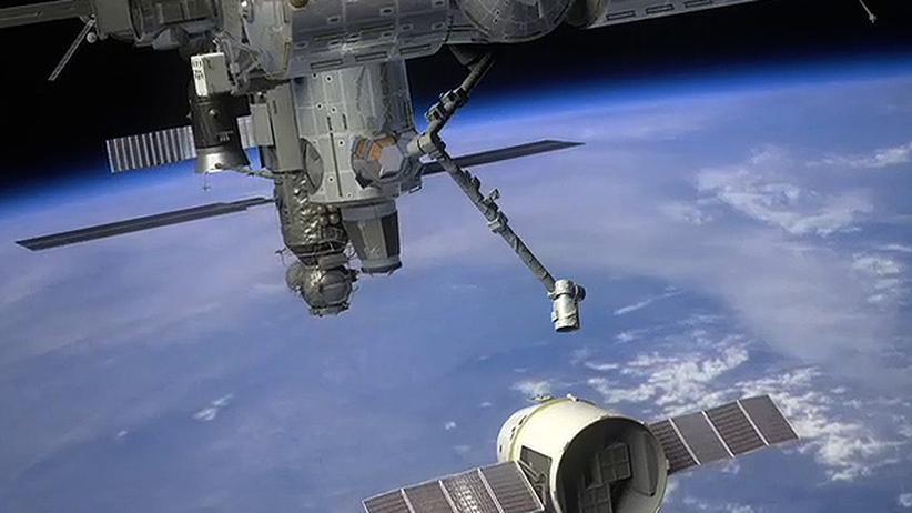 """Raumfrachter """"Dragon"""": Riskanter Liftoff für die private Raumfahrt"""