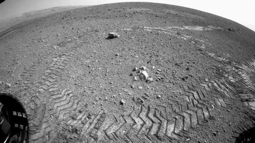 Nasa-Weltraumforschung: Curiosity gelingt Testfahrt auf dem Mars