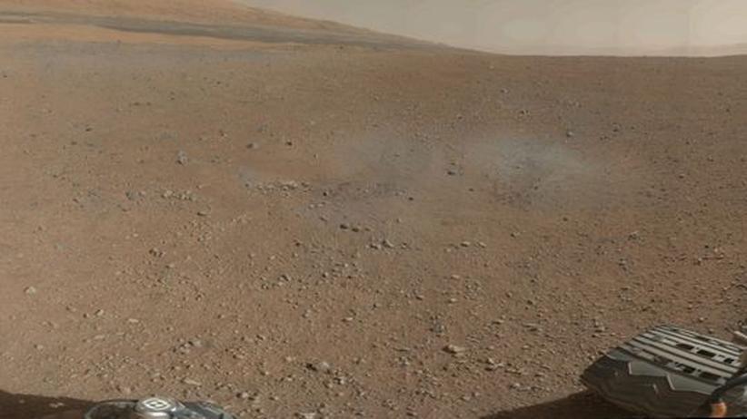 Raumfahrt: Rover Curiosity sendet erstes Farbfoto vom Mars