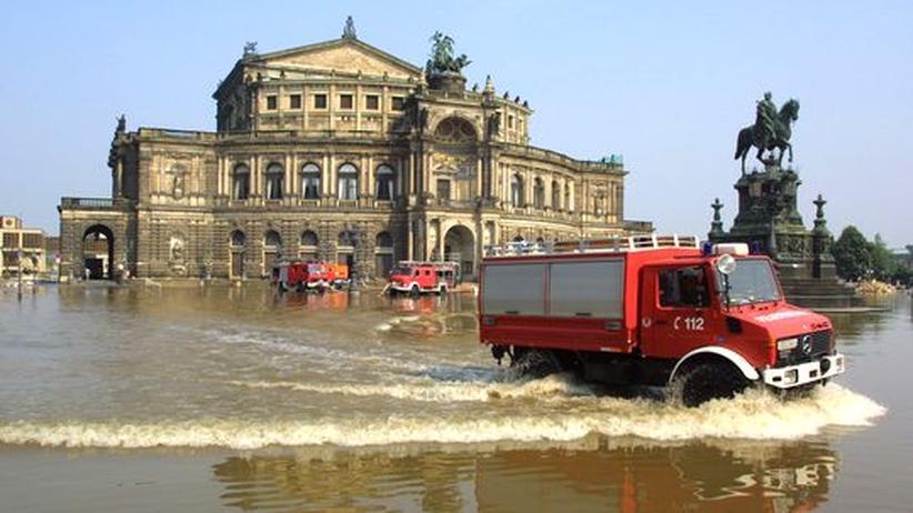 Jahrhundertflut: Die Elbe wäre den Wassermassen wieder ausgeliefert
