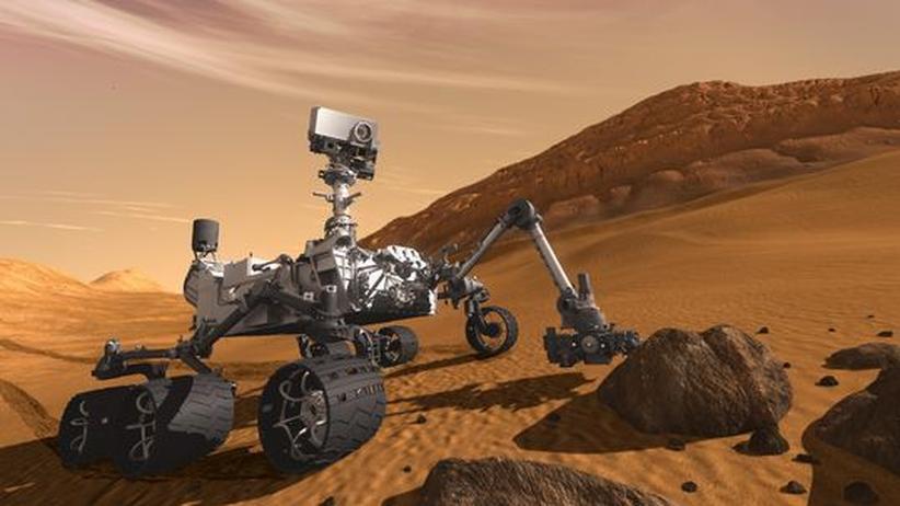 Roboter Curiosity: Roboterchens Marsfahrt