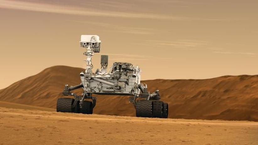 Weltraumwetter: Marsrover kämpfen mit dem Sturm