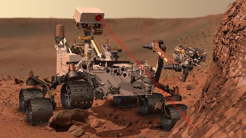 Rover Curiosity: Die Zukunft im All gehört den Robonauten