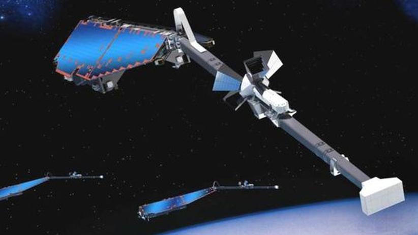 Swarm-Sonden: Im Formationsflug durch das Erdmagnetfeld