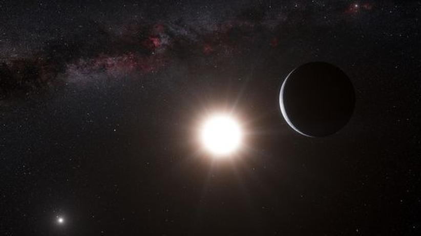 Exoplanet: Forscher entdecken erdgroßen Planeten in Nachbarsonnensystem