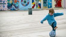 Kind Einzelkind Stimmt's Fußball