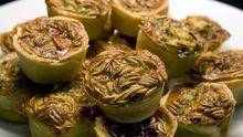 Diese Mehlwurm-Muffins wurden in der Kantine des Niederländischen Ministeriums für Landwirtschaft serviert - eine der führenden Cafeterien im Bereich nachhaltiger Ernährung.