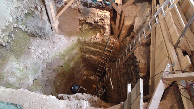 Archäologie: Antikes Bad unter Kölns Rathaus ausgegraben