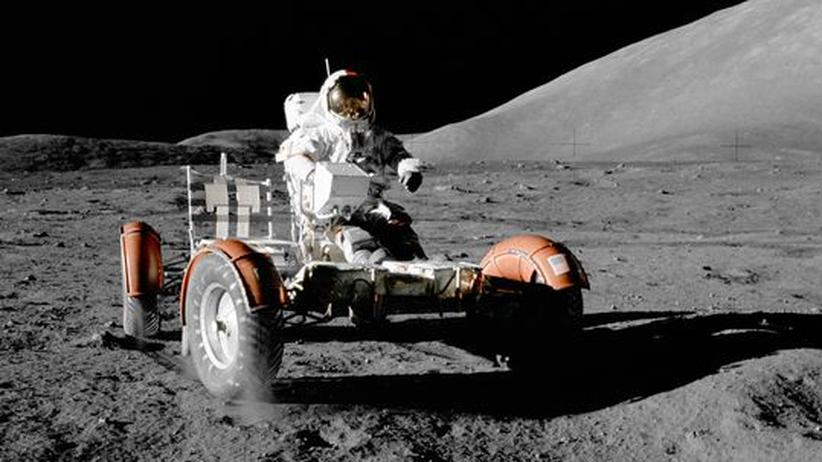 Astronaut Gene Cernan: Unter ihm die Erde