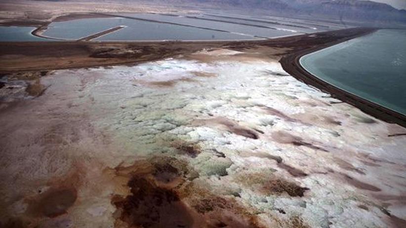 Totes Meer: Der durstige Salzsee
