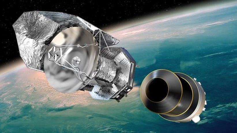 Astronomie: Teleskop mit Infrarotblick stirbt den Wärmetod