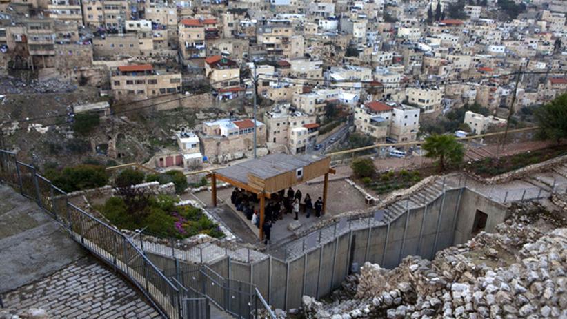 Jerusalem: Eine Grabungsstätte wird zur Waffe im Nahost-Konflikt