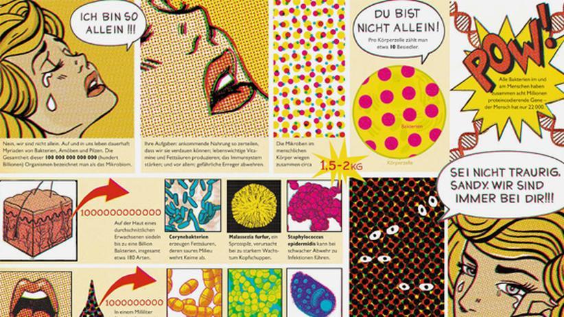 Wissen in Bildern: Mikrobiom