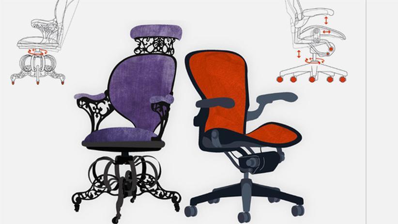 Wissen in Bildern: Wie die Stühle sitzen lernten