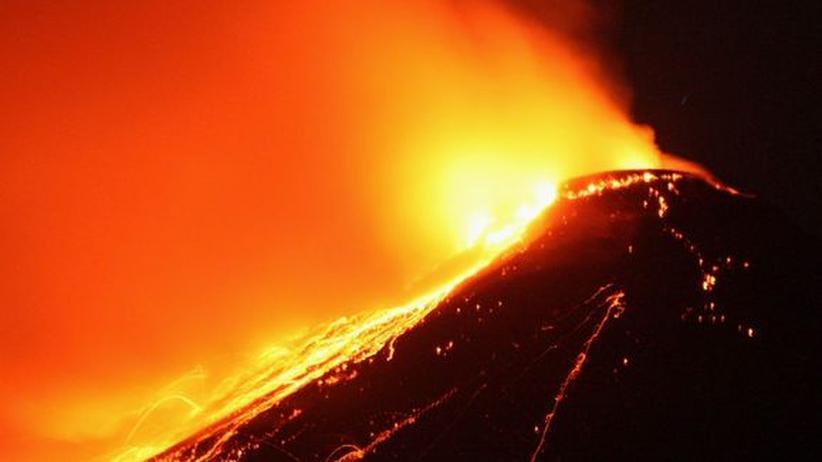 Vulkan Magma Lava
